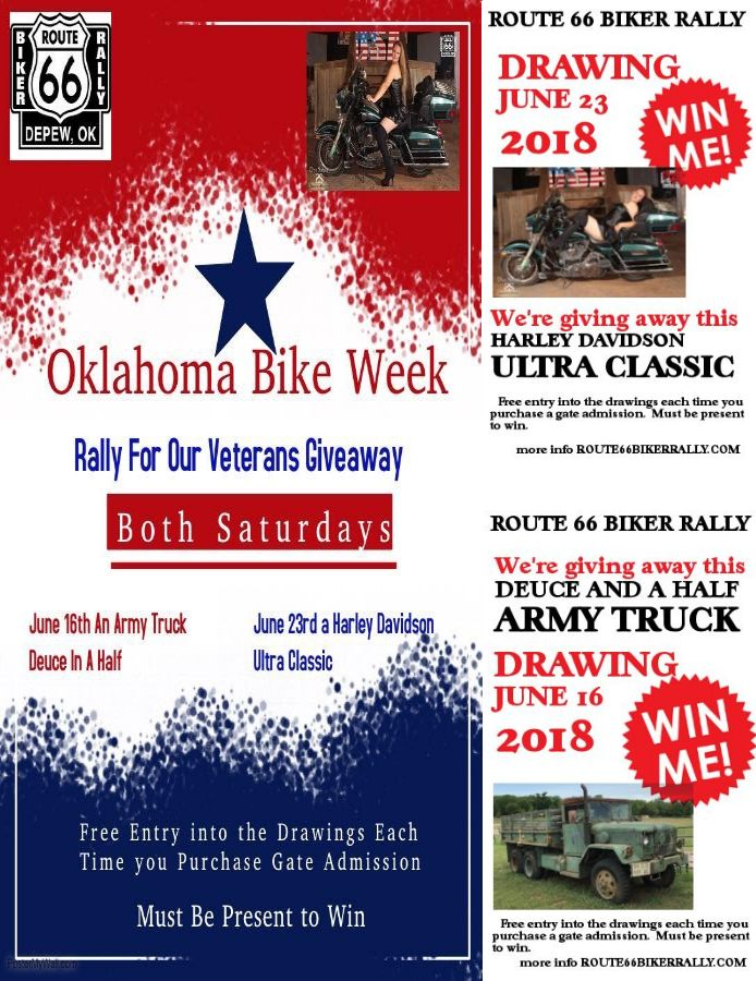 Route 66 Bike Rally