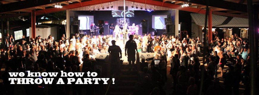 at ROUTE 66 BIKE RALLY we know how to throw a party !